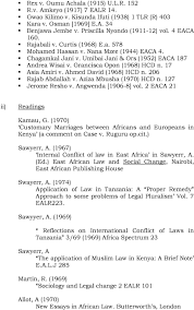 the open university of tanzania faculty of law olw family law 17 asia amiri v ahmed david 1968 hcd n 206 rajab abdallah