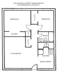 Bedroom House Plans House Layout Ideas  in Two Bedroom House    Two bedroom sq ft straw in Two Bedroom House Floor Plans