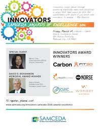 innovators awards of excellence samceda powered by eventbrite