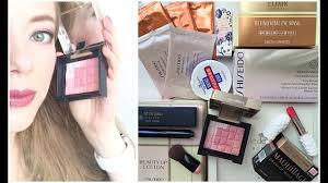 покупки SHISEIDO & Cle De Peau - YouTube