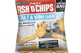 Image result for burtons fish and chips crisps