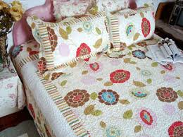 country living style cotton patchwork quilt