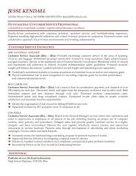 customer service resume examples    seangarrette co  customer service resume sample free