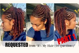 Natural Twist Hairstyles Flat Twist Hairstyles On Natural Hair Part 1 Naturally Michy