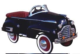 stylish buick pedal car restored  great attention to   stylish 1941 buick pedal car restored great attention to detail