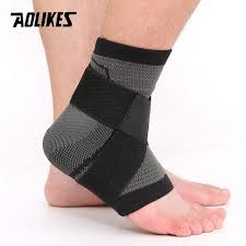 AOLIKES <b>1PCS</b> 3D Weaving Elastic <b>Nylon</b> Strap Ankle Support ...