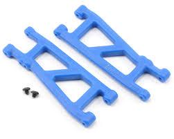 <b>Рычаги</b> задней <b>подвески Rear</b> A-arms Associated SC10, T4 (синие ...