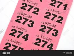 page of pink raffle tickets stock photo stock images bigstock page of pink raffle tickets
