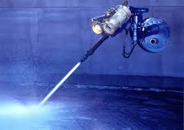 drop leg nozzles and robotic crawlers as well as valve controlled shell lances we can gain access to a tank through any available roof or side manway oil tank cleaning equipment