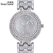 <b>Dreamcarnival 1989 New Arrive</b> Round Clock Classic Crystallized ...