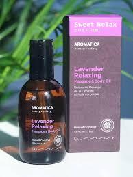 <b>Массажное масло</b> для лица и тела с лавандой Lavender Relaxing ...