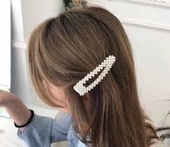 M MISM <b>Elegant Womens</b> Full <b>Imitation</b> Pearl <b>Hair Clips</b> For Girls ...