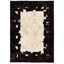 Buy Tidyard <b>Rug Genuine Leather</b> Patchwork Area Rug for Living ...