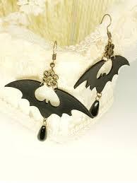[36% OFF] <b>Halloween PU Bat Drop</b> Earrings | Rosegal