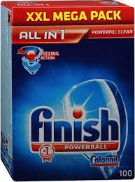 <b>Таблетки FINISH 3065326</b> 100 шт AIO бесфосфатные купить в ...