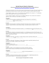 great objectives for a resumes template great objectives for a resumes
