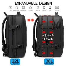Amazon.com: <b>40L</b> Travel <b>Backpack</b>,Flight Approved Carry On ...