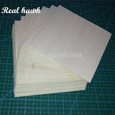 <b>AAA+ Balsa Wood Sheet</b> ply 20 Sheets 100x90x1mm Model Balsa ...