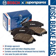 4 x Rear Bosch <b>Blue Line</b> Disc Brake Pads for <b>Mazda</b> 6 GG GY GH ...