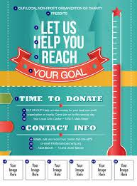 fundraiser flyer template teamtractemplate s fundraising thermometer logo flyer ticketprintingcom axpqkt5u