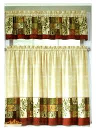 Kitchen Curtains At Walmart Sunflower Kitchen Curtains Free Image
