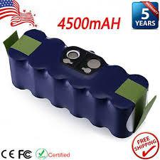 <b>14.4V 4500mAh</b> Vacuum <b>NI</b>-<b>MH</b> Battery For iRobot Roomba 500 ...