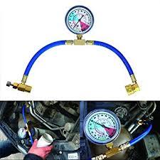 MASO Car Conditioning <b>Refrigerant</b> Recharge <b>Measuring</b> Hose Kit ...