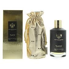 MANCERA Black Eau De Parfum Spray, Gold, 4 Fl Oz ... - Amazon.com