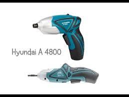 Электро <b>отвертка Hyundai A</b> 4800 (обзор и тест) - YouTube