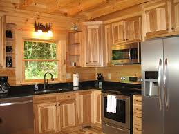 cabin style kitchen cabinets cabin  rustic log home kitchen cabinet design interiors with natural w