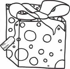 christmas present coloring pages com printable christmas gift