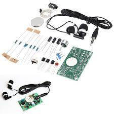 <b>3pcs diy electronic kit</b> set hearing aid audio amplification amplifier ...