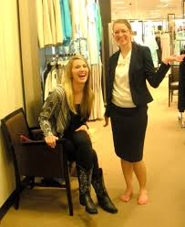 shopping for your first suit female professional but if you do take the skirt option make sure it hits at or below the knee thighs are for nightclubs not offices