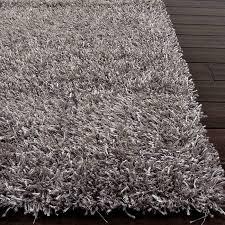 gray shag rug sg