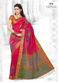 a mustard gold silk saree contrast red border rmkv silks weavers zone