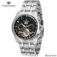 FORSINING 100%Original <b>Men's Automatic Mechanical</b> Watch F523 ...