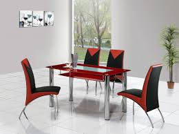 metal dining room chairs chrome: full size of tables amp chairs cool red black leather modern dining room chairs chrome