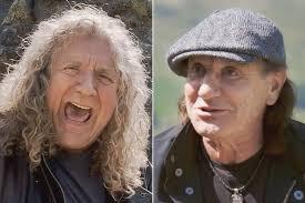 Watch <b>Robert Plant</b> Joke About Brian Johnson Joining Led Zeppelin