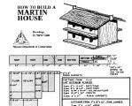 Purple Martin House Plans   Free Martin House PlansPurple Martin House Plans