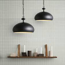 best metal shade semicircle black pendant lighting for kitchen black pendant lighting