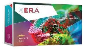 <b>Цветные контактные линзы Hera</b> Color Black 1-Tone Plano (2 ...