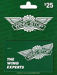 Wingstop $25 Gift Card: Gift Cards - Amazon.com