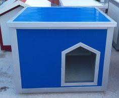 Flat Roof Dog House Plans   Flat Roof Dog House  D     Dog    Classic convertible flat roof dog house  at a very nice traffic blue
