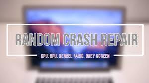 How to Fix Any Macbook Pro Random System Crash - YouTube