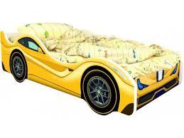 <b>Кровать</b>-<b>машина КарлСон Феррари желтый</b>, р. купить в детском ...