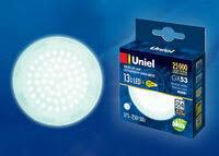 «<b>Лампа</b> светодиодная <b>Uniel GX53 13W</b> 4000K, матовая, <b>LED</b> ...