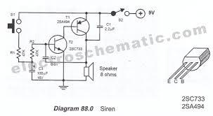 simple siren circuit Siren Wiring Diagram siren circuit schematic siren wiring diagram for the 2008 harley