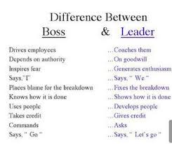 Difference between boss and leader | Funny Dirty Adult Jokes ... via Relatably.com
