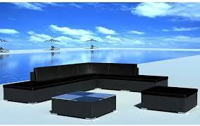 vidaXL 8 Piece Garden Lounge Set with Cushions ... - Amazon.com