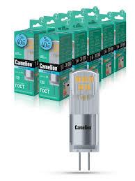 Набор из 10 светодиодных <b>лампочек</b> LED <b>5W</b> 4500К <b>G4</b> 12В ...